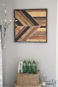 Diy wall art pallet design shanty 2 chic for What kind of paint to use on kitchen cabinets for make my own wall art