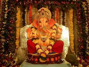 Ganpati Decoration Ideas with Flowers Ganesh Chaturthi