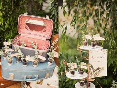 Bridal Shower Rustic Outdoor Table Party Themed