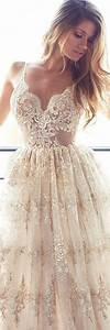 Robe De Mariée Champagne : 1001 mod les de robe de mari e couleur champagne ~ Preciouscoupons.com Idées de Décoration