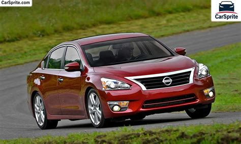 nissan altima  prices  specifications  uae car