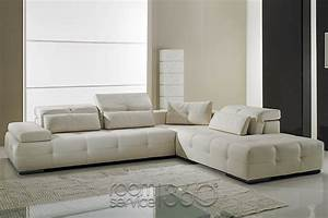 Gamma leather sofa gamma leather sofa radiovannes com for Gamma leather sectional sofa