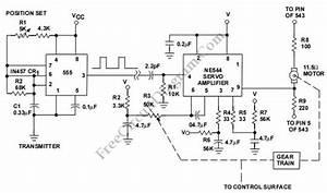 Servo Motor System Controller  Ne544  Circuit Diagram World