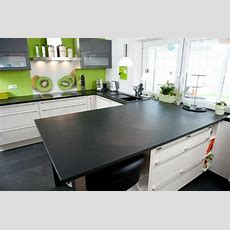 Das Attraktive Design Ihrer Küche  Schiefer Arbeitsplatte