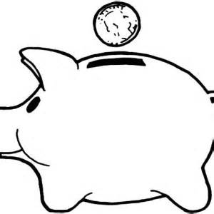 graduation piggy bank picture of piggy bank coloring page picture of piggy bank