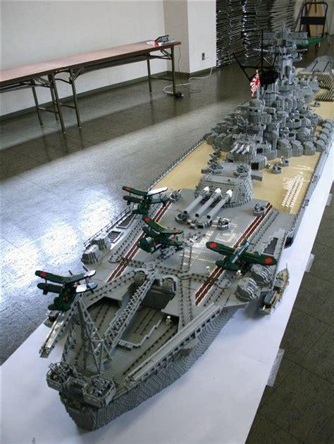 Biggest Lego Boat Ever by Lego Battleship Yamato Is Biggest Lego Ship Ever Lego