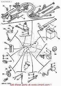 Yamaha Ysr50t 1987 Electrical 1
