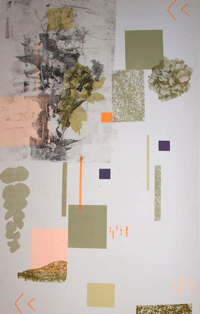 natalie ratcliffe abstracted woodland  abstract