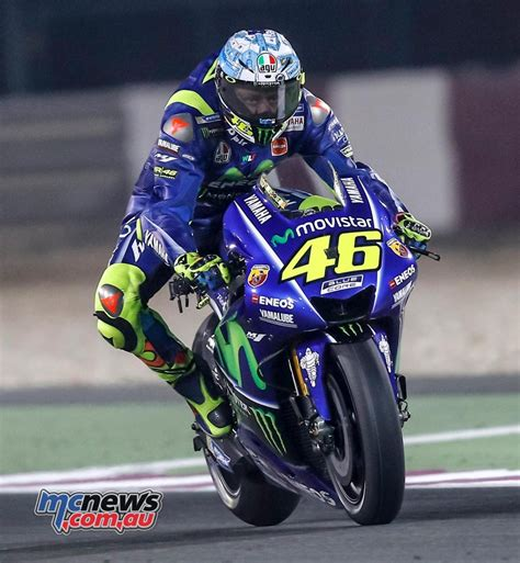 valentino rossi worried  lack  pace  qatar