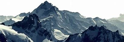 Mountain Mountains Transparent Clipart Range Peak Background