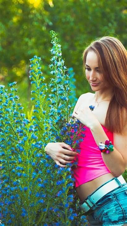 Girly Iphone Flowers Garden Wallpapers Wallpapersafari Code