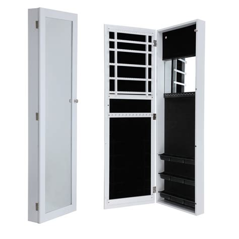 full length mirror jewellery cabinet homegear wall mounted jewellery cabinet full length