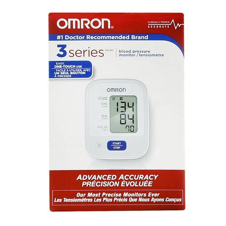 Omron 3 Series Blood Pressure Monitor | Walmart.ca
