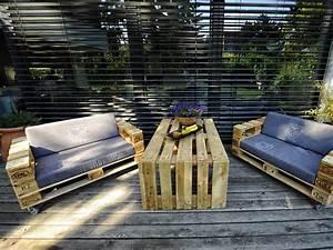 Palettenmöbel Garten Bauanleitung : palettenm bel selber bauen schritt f r schritt erkl rt ~ Whattoseeinmadrid.com Haus und Dekorationen
