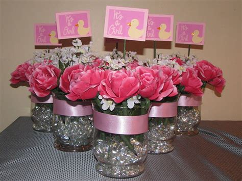 baby girl shower centerpieces easy to make baby shower centerpieces baby shower for