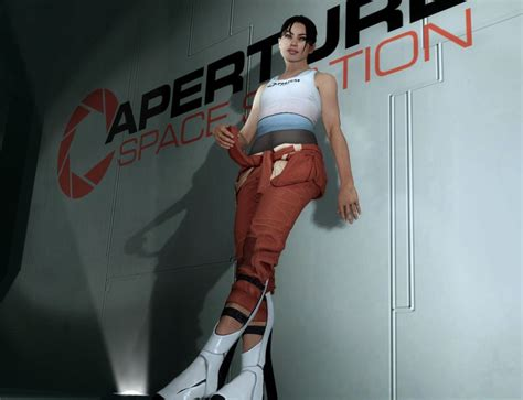 Portal 2 Chell By Bloocobalt