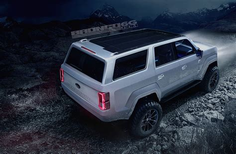 ford bronco  door concept rendering