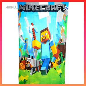 Minecraft Beach Towels for Kids