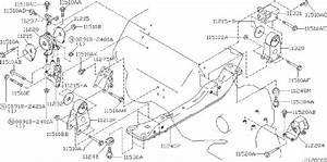 Nissan Maxima Manual Transmission Mount  Left  Front