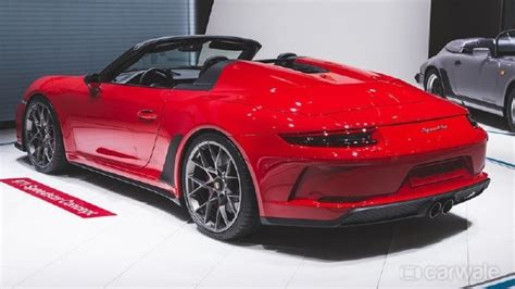 Originally posted by ruf rs sill available???? Paris Motor Show 2018: Porsche 911 Speedster gets a red colour and a green flag - CarWale