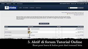 Manual Guide Tuton Ut - Bagian 1- Forum