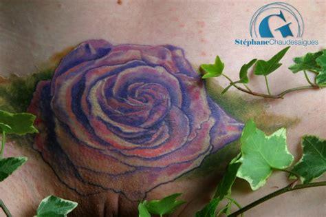Une Rose Pour Un Tatouage Intime Graphicaderme