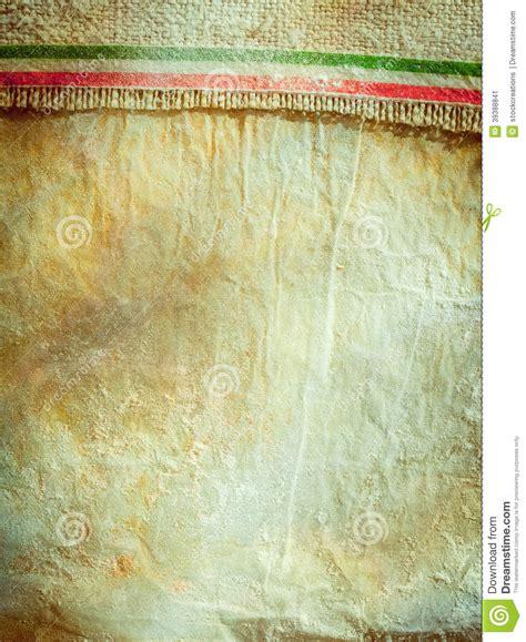 rustic italian food background stock image image  flag
