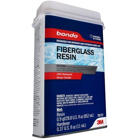Boat Building Fiberglass Resin by 3m Bondo 1 Qt All Purpose Fiberglass Resin 20122 The
