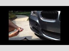 BMW Tow Hook Installation YouTube