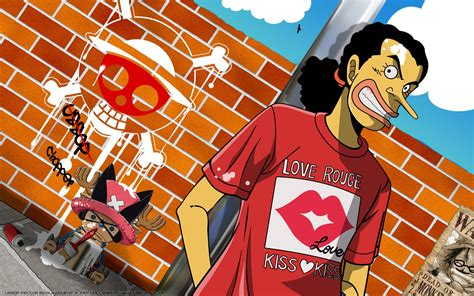 One piece chopper wallpaper 80 images. Usopp and Chopper HD Wallpaper   Background Image ...