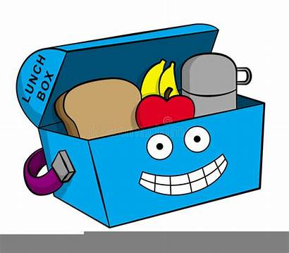 Clipart Lunchbox Cartoon Lunch Box Clker Clip