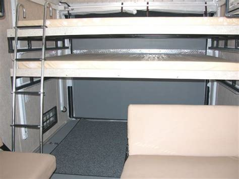 happijac bed lift optional double bunk mirage trailer