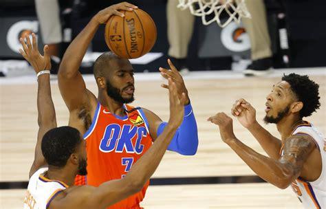 OKC Thunder: Chris Paul trade to Suns only makes sense if ...