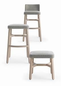 Chaise De Bar : croissant chaise de bar by billiani design emilio nanni ~ Farleysfitness.com Idées de Décoration