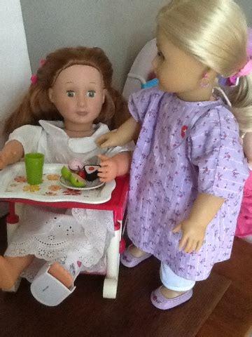 american girl doll play creating  doll hospital