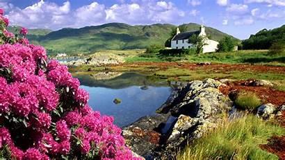 Nature Scotland Spring Scottish Country British Isles