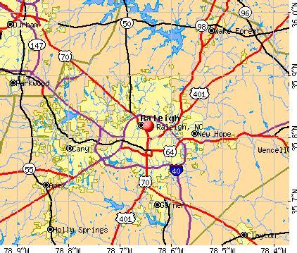 raleigh north carolina google maps  travel information