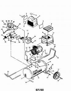 919 153331 Sears Craftsman Air Compressor Parts