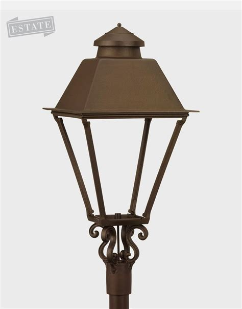 gas outdoor lighting marrett post mount gas lantern 32