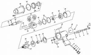 Ingersoll 2 U0026quot  Drive Air Impact Wrench Repair Parts
