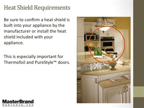kitchen cabinet heat shield heat shields for kitchen cabinets image to u 5473