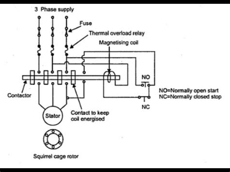 Sizing Contactor Overload Relay For Phase Dol