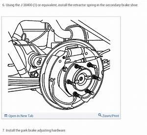Rear Brake Shoe Replacement  Looking For Rear Drum Brake