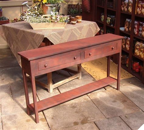 However, the coffee table has remained a staple object inside the household, and it is interesting to list down how many ways homeowners have devised for utilizing their own tables. Tables - Farmhouse - Side Tables And End Tables - new york - by Country Primitive Workshop