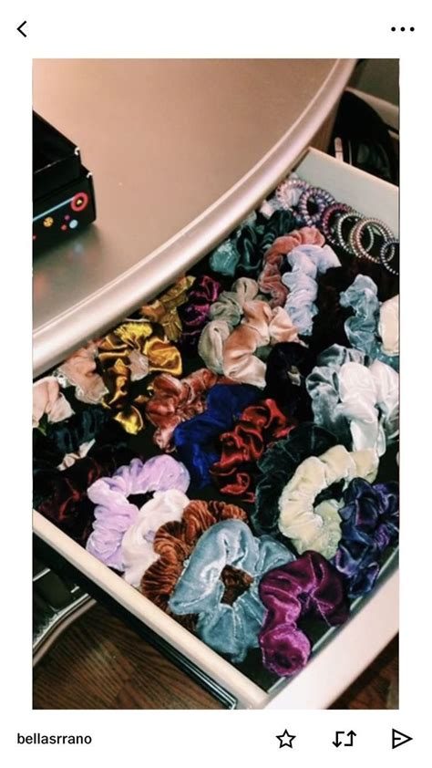 scrunchies drawers hairband scrunchie vsco vscocam