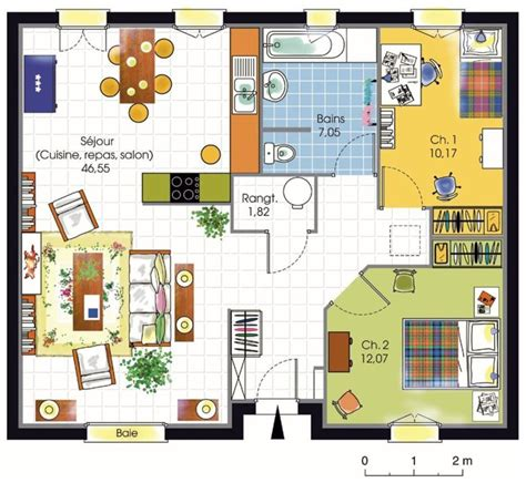 plan de maison americaine