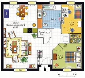 plan de maison americaine With attractive plan de maison gratuit 6 les maisons americaines