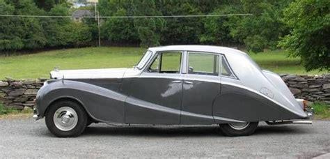 1951 Bentley Mk Vi Empress Saloon By Hooper
