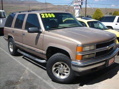 1996 Chevrolet Tahoe Ls 4dr 4wd Suv  Carson City Nv