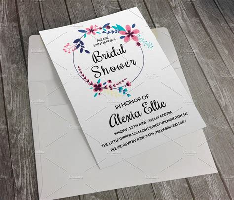 Templates For Invitations by Bridal Shower Invitation Template Invitation Templates